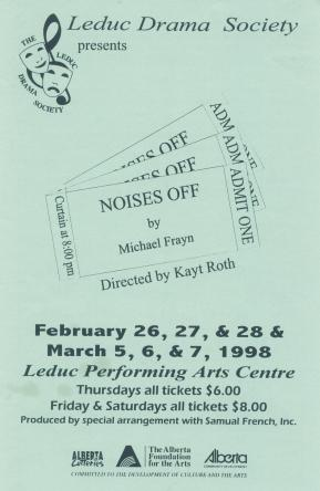 Noises Off program